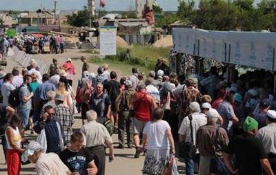 На КПП Станиця Луганська померла жінка