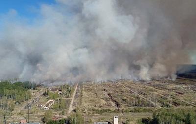 У РФ майже за тиждень ліквідували пожежу на полігоні в Удмуртії
