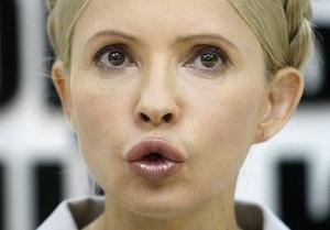 Тимошенко призвала Запад прекратить игнорировать  поглощение Украины Россией