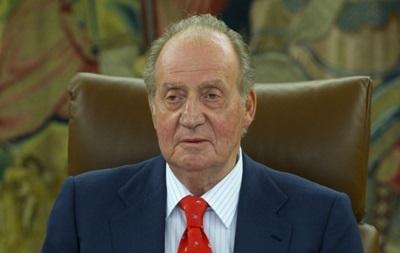 Король Испании едет в Киев