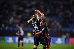 Лион третий год подряд выиграл женскую Лигу чемпионов