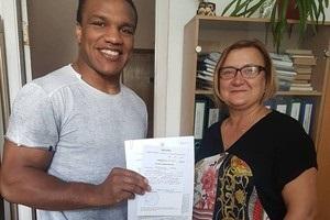 Не минуло й три роки: Беленюк отримав ордер на свою квартиру