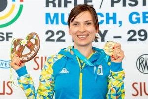 Елена Костевич выиграла золото на этапе Кубка мира в Мюнхене
