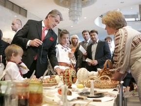 Сегодня Ющенко посетит фестиваль искусств