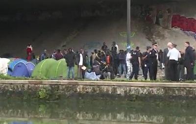 В Париже эвакуируют самый большой лагерь для мигрантов