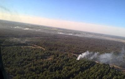 Лесной пожар в Херсонской области охватил 580 га