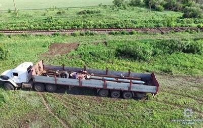 В Луганской области украли 135 метров железной дороги