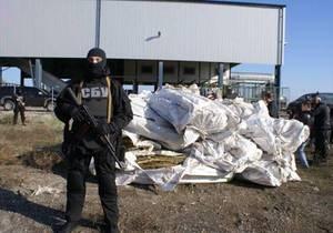 В Запорожской области сотрудники СБУ уничтожили более полутонны марихуаны