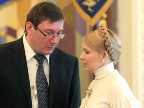 Луценко: Тимошенко вынуждена принимать законы с импотентами и бандитами