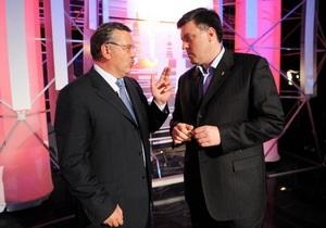 Гриценко и Тягнибок отказались голодать с Катеринчуком