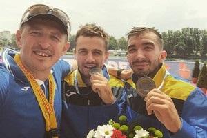 В заключительный день ЧЕ по гребле у Украины две медали