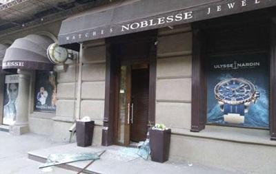 В Харькове ограбили ювелирный магазин