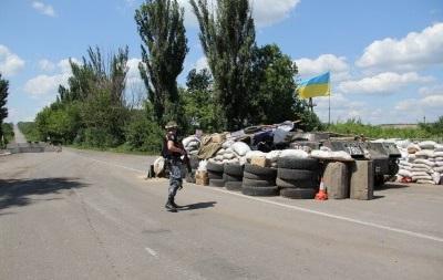 В Луганской области вдвое сократят количество блокпостов