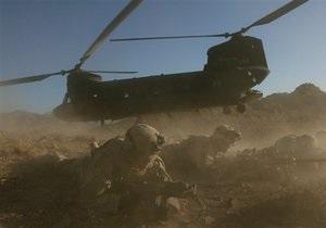 Войска НАТО уничтожили талибов, сбивших вертолет с американскими спецназовцами
