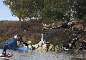 Экспертиза не выявила алкоголя в крови пилотов потерпевшего крушение Як-42