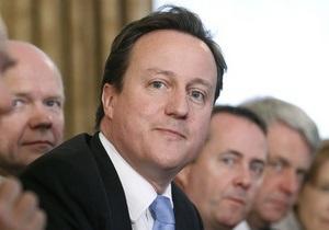 Кэмерон: Британия примет программу нулевой терпимости к участникам уличных беспорядков