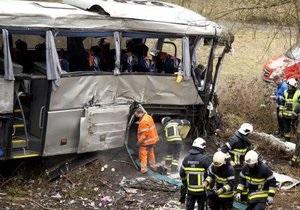 Новости Бельгии - автобус Бельгии- под Антверпеном -МИД: В разбившемся в Бельгии автобусе с российскими школьниками граждан Украины не было