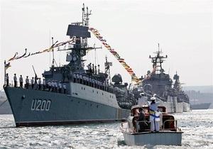 В параде Победы в Севастополе впервые примут участие корабли ЧФ РФ и ВМС Украины