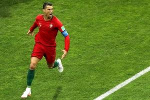 Роналду забил на четвертом чемпионате мира подряд