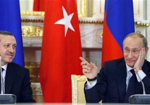 Путин предложил Турции и Италии заключить соглашение по Южному потоку и Самсун-Джейхан