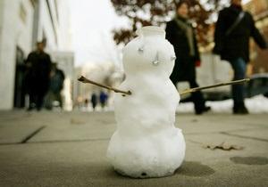 В США водитель автобуса лишился работы из-за наезда на снеговика