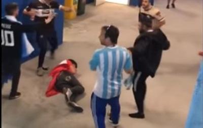На матчі Аргентина-Хорватії сталася бійка