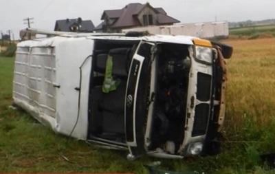 В Польше автобус попал в ДТП из-за косули