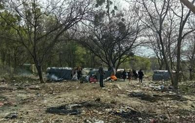 Под Львовом напали на лагерь ромов, есть погибший