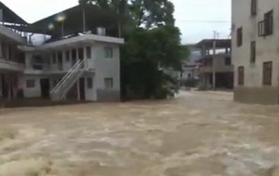 Наводнение в Китае: пострадали более 40 тысяч человек