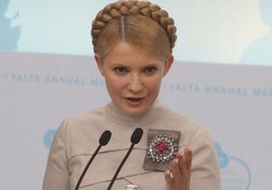 Тимошенко: Через полгода Украина выйдет из экономического кризиса
