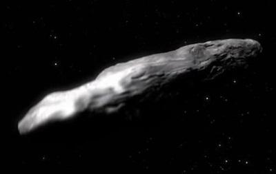 Астероид Оумуамуа превышает возможную скорость