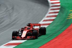 Феттель став найкращим на третій практиці Гран-прі Австрії