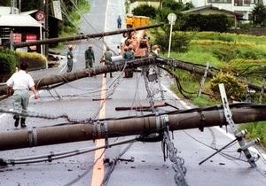 В Японии число жертв тайфуна Талас составляет уже 34 человека