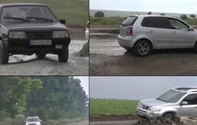 Журналісти протестували дороги на найпопулярніші курорти України