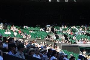 Корти Вімблдону спорожніли під час матчу Англії на ЧС-2018
