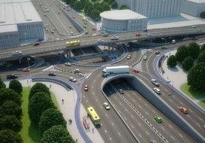 В Киеве на Шулявке могут построить трехъярусную развязку