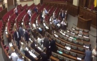 Нардепи Лещенко і Ляшко влаштували сварку в Раді