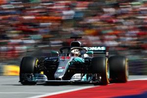 Хэмилтон выиграл первую практику Гран-при Великобритании
