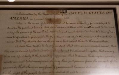 Facebook посчитала Декларацию независимости США расистским документом