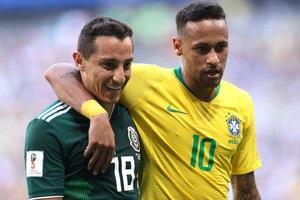 Гравець збірної Мексики потролив Неймара після вильоту Бразилії з ЧС