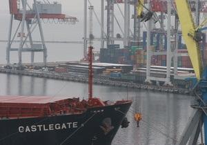 Германия заподозрила одесскую судоходную компанию в поставках оружия в Сирию
