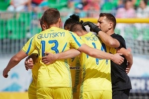 Сборная Украины по пляжному футболу обыграла Португалию в матче Евролиги-2018