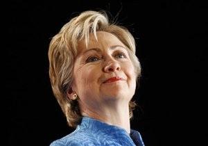 Весной в Киев приедет Хиллари Клинтон
