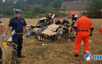 У Польщі впав вертоліт: загинули двоє людей