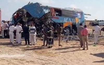В Египте в ДТП с автобусом погибли десять человек