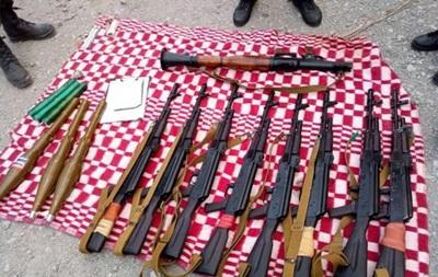 В Мариуполе в угнанном авто нашли тайник сепаратистов