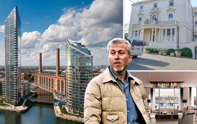 Абрамович купив пентхаус в Лондоні за $40 млн - ЗМІ