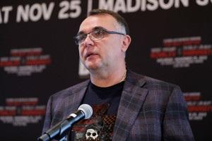 Клімас: Російська сторона не допомагає в організації бою Усик - Гассієв