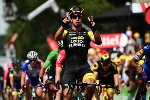 Тур де Франс: Груневеген выиграл второй этап подряд