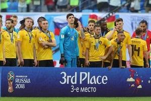 Бельгія вперше у своїй історії виграла медаль ЧС з футболу
